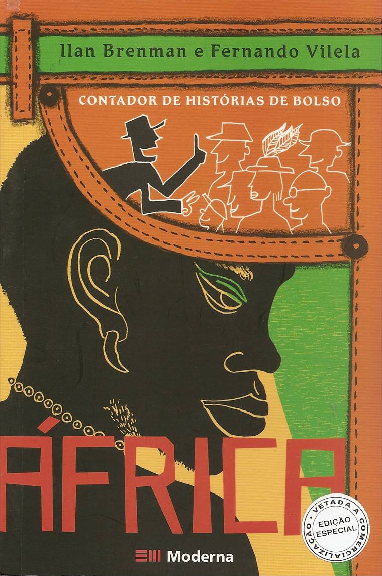 capa - CONTADOR DE HISTÓRIAS DE BOLSO - AFRICA