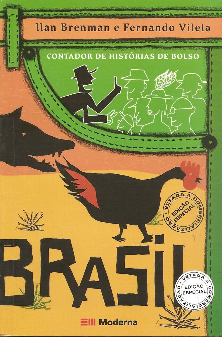 capa - CONTADOR DE HISTÓRIAS DE BOLSO - BRASIL