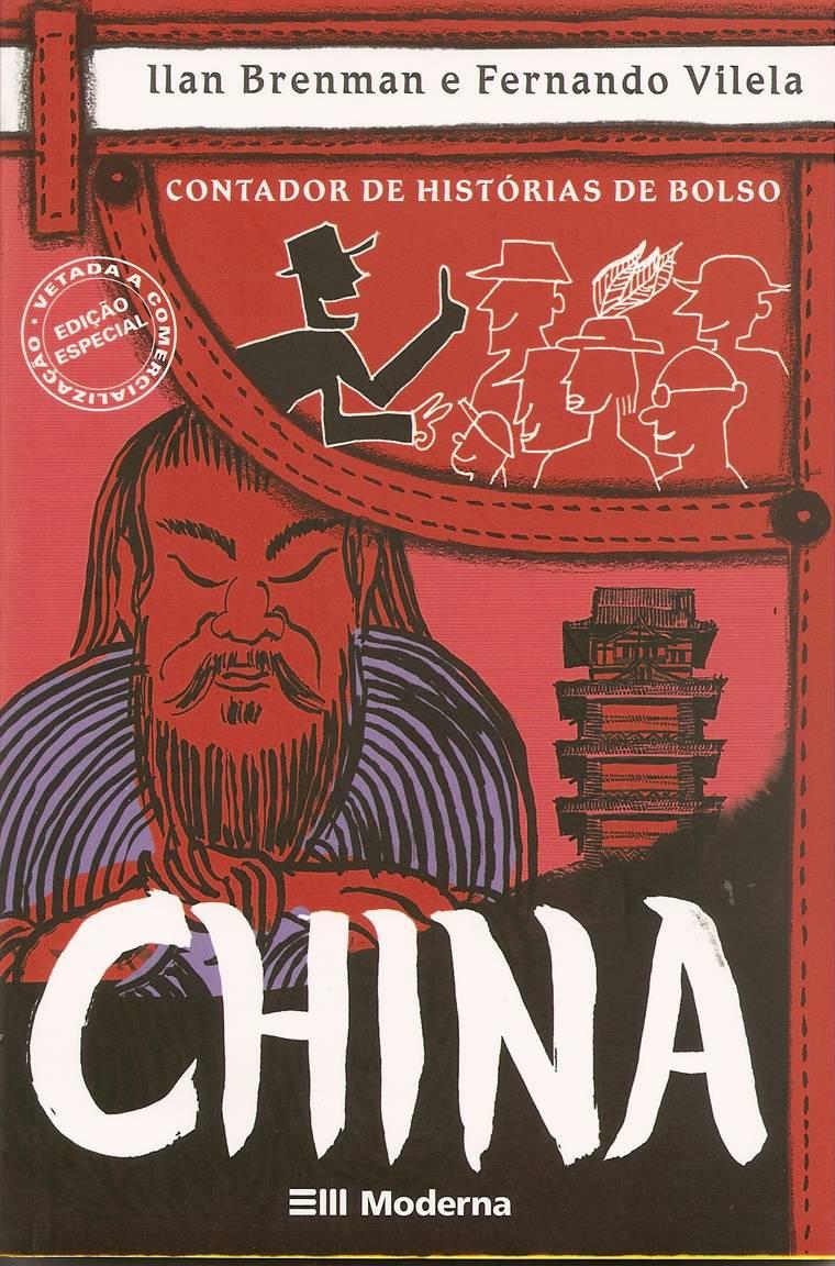 capa - CONTADOR DE HISTÓRIAS DE BOLSO - CHINA