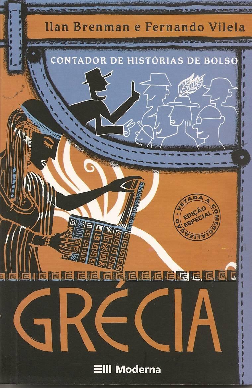 capa - CONTADOR DE HISTÓRIAS DE BOLSO - GRÉCIA