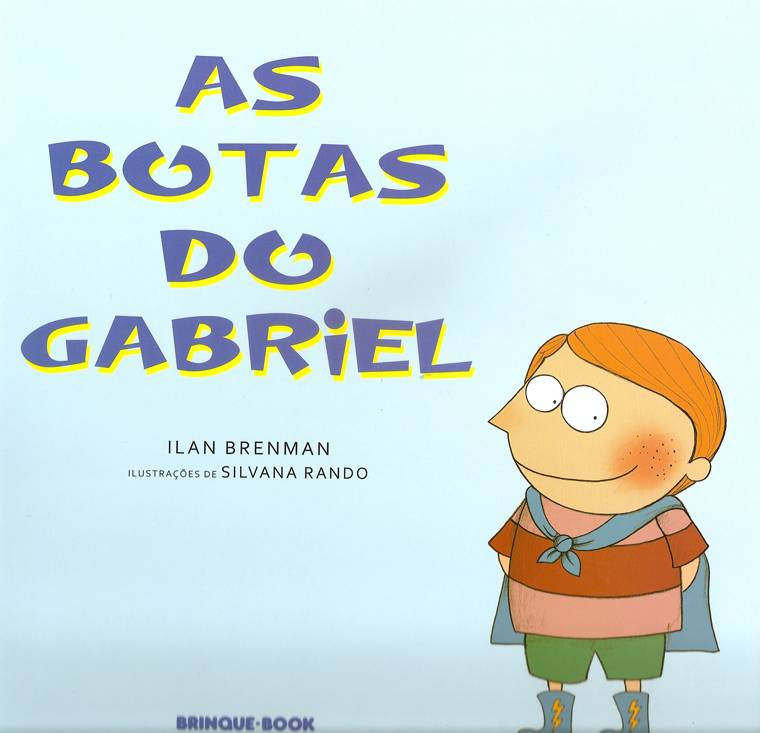 capa - AS BOTAS DO GABRIEL