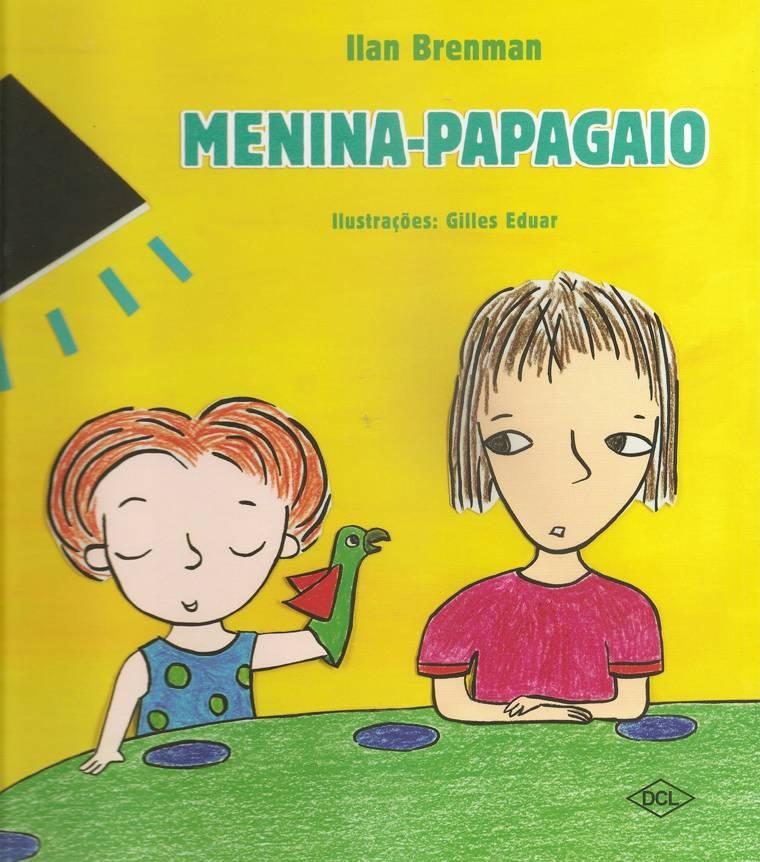 capa - MENINA-PAPAGAIO